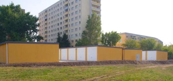 Neubaugarage Halle Future Construct
