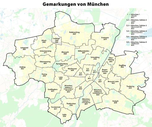 Gemarkung München