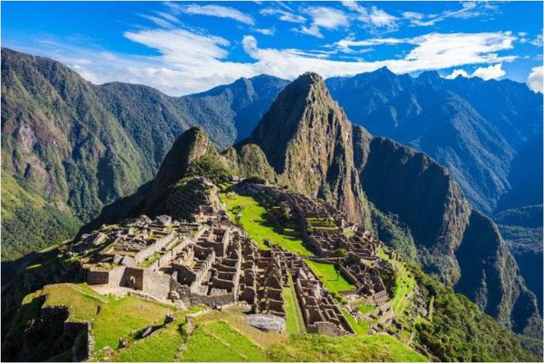 Ruine der Stadt Machu Piccu