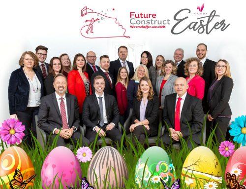 Frohe Ostern wünscht Ihnen die Future Construct AG