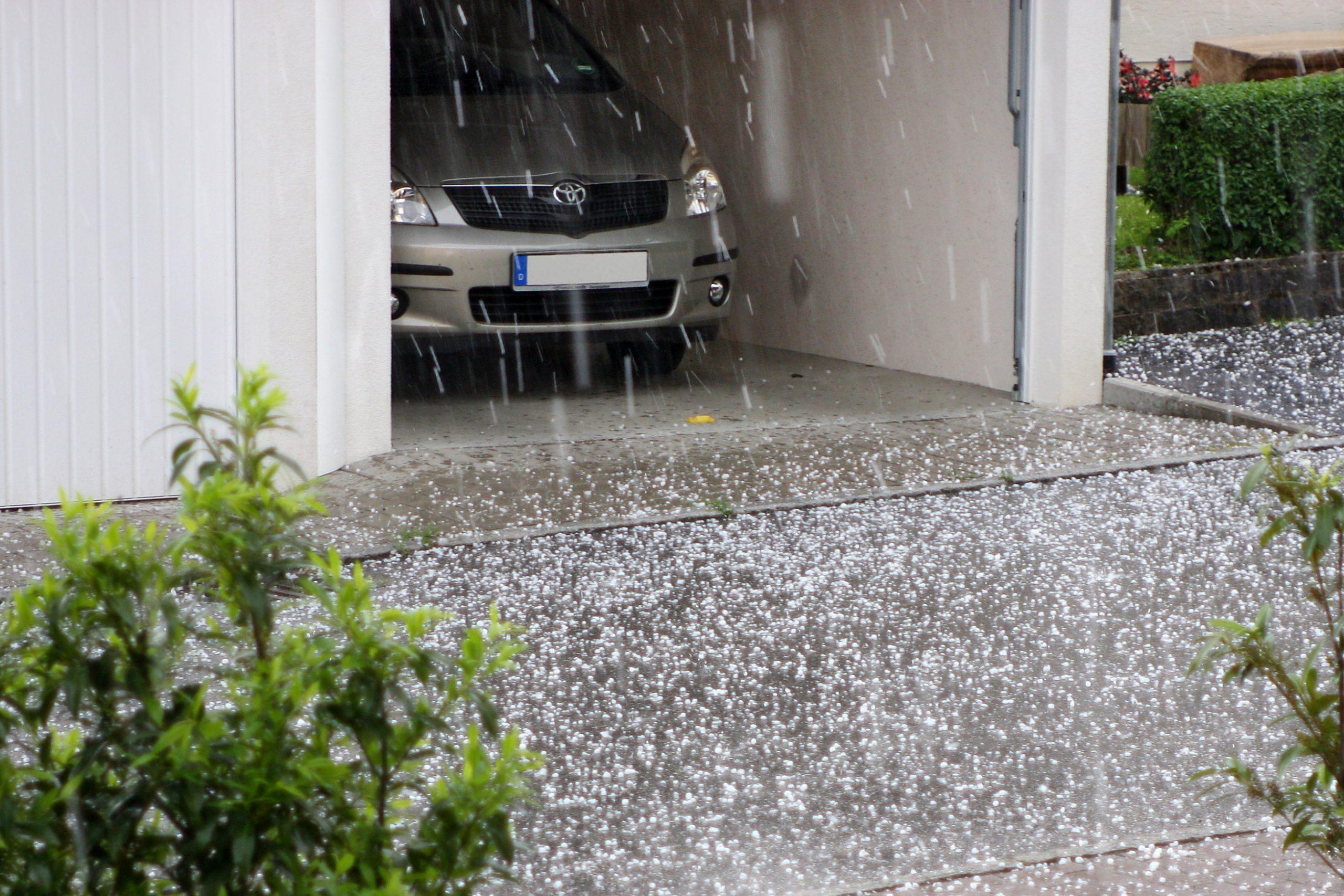 Garagen schützen Autos vor Hagel