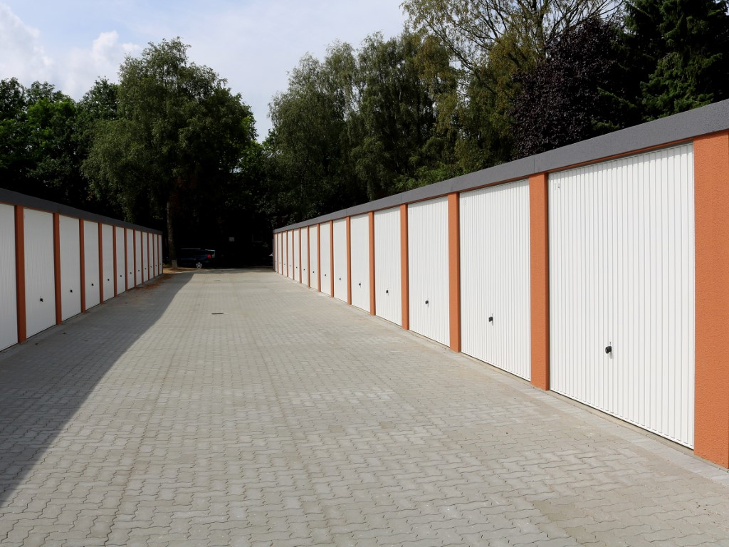 Garagenhof in Kiel