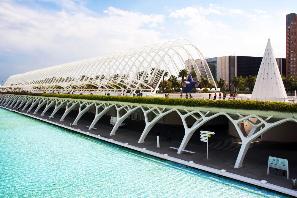 Valencia schönstes Parkhaus