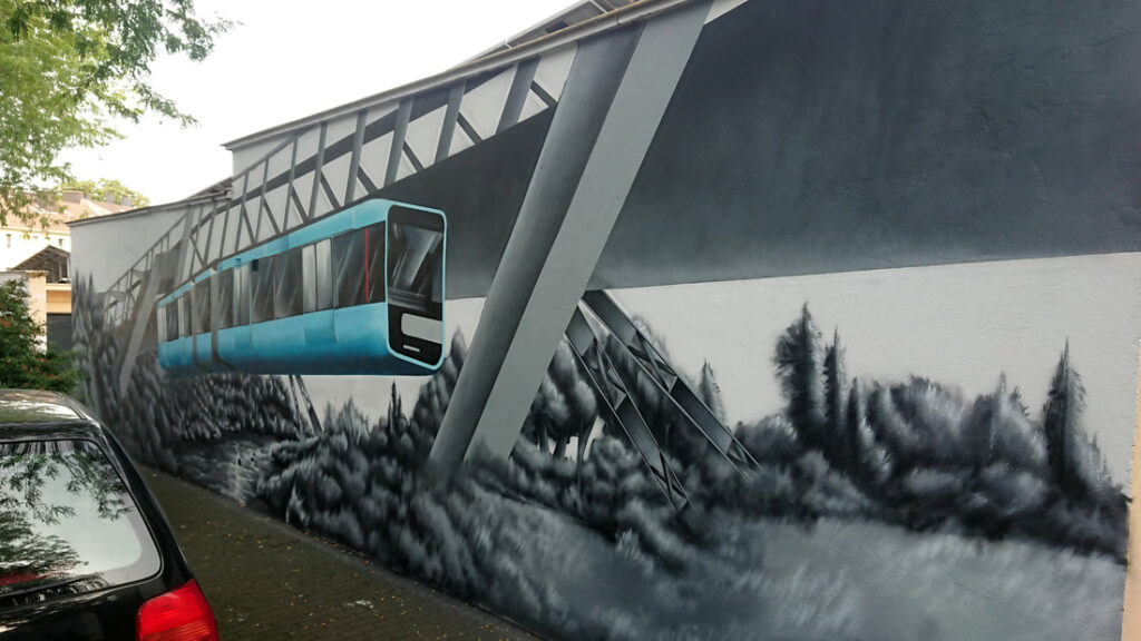 Future Construct Garagenhof Graffiti Wuppertal