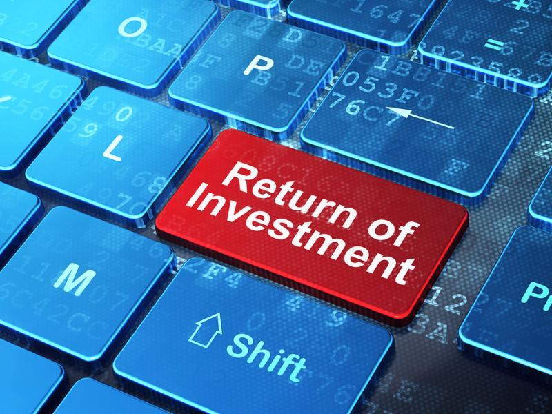 "Taste mit ""Return of Investment"""