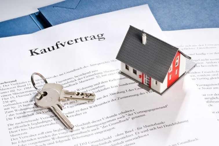 Kaufvertrag Schlüssel Haus