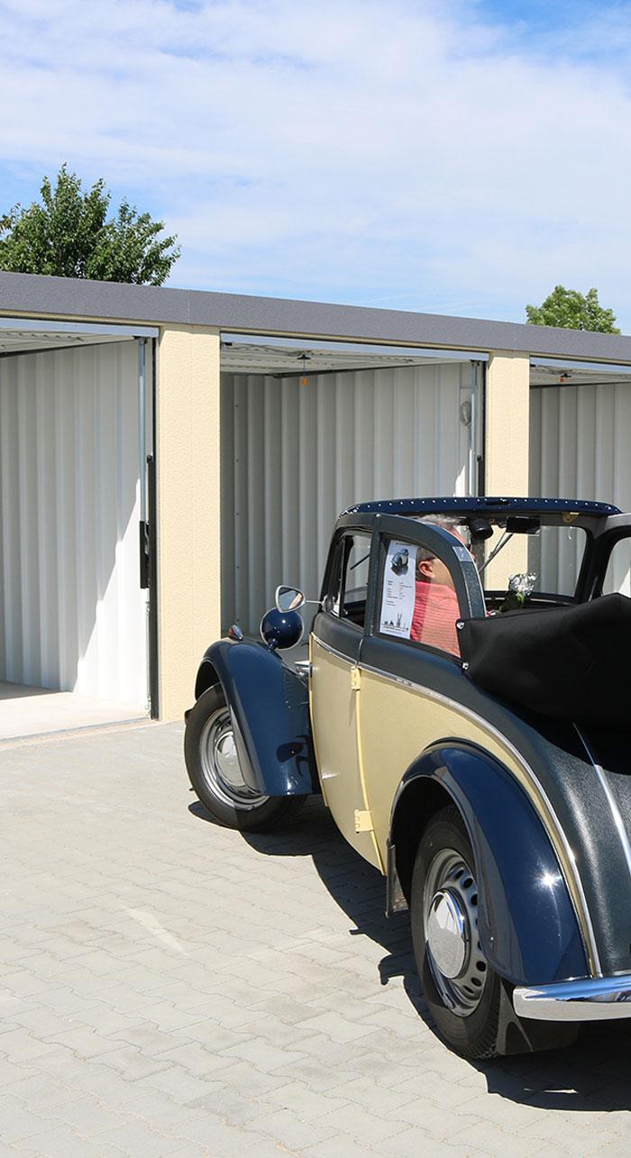 Garagen vermieten